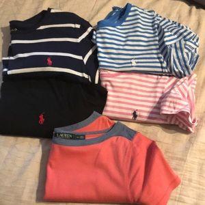 Women's XL polo Tee shirts